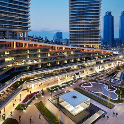 Le centre commercial zorlu center istanbul