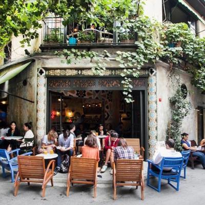 Le quartier karakoy a istanbul