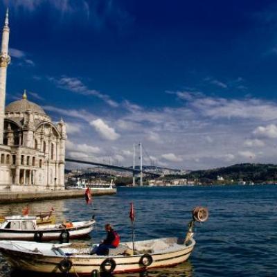 Le quartier ortakoy a istanbul