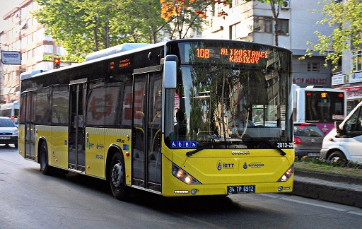 Les bus a istanbul